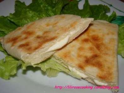 Recette Naan farcie au fromage