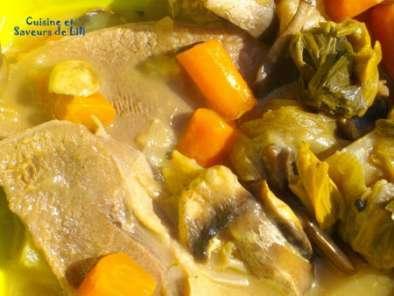 Langue de boeuf sauce madère aux champignons, Recette Ptitchef
