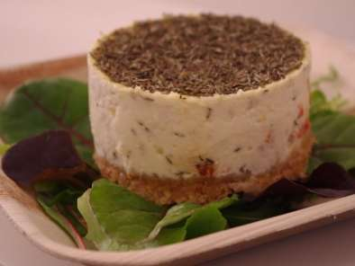 Recette Cheesecake salé poivrons-thym