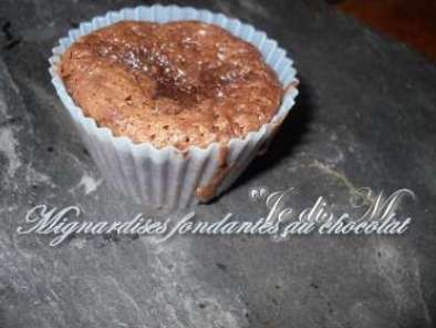 Recette Minis fondants light au chocolat