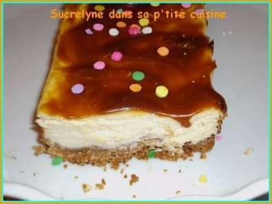 Recette Cheesecake ricotta caramel