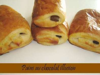 Recette Pains au chocolat illusion