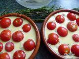 Etape 4 - Flan aux Tomates Cerises et Romarin