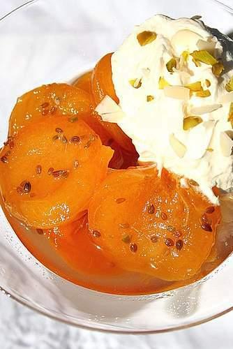 abricots r tis au muscat aux 2 anis creme abricotee recette ptitchef. Black Bedroom Furniture Sets. Home Design Ideas