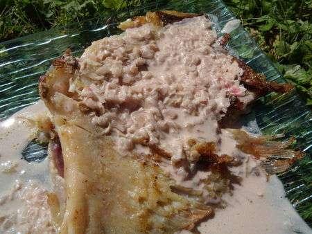 Aile de raie et sa sauce l 39 chalote recette ptitchef - Cuisiner l aile de raie ...