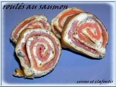 Aperitif dinatoire suite roules au saumon recette ptitchef - Recette facile apero dinatoire ...