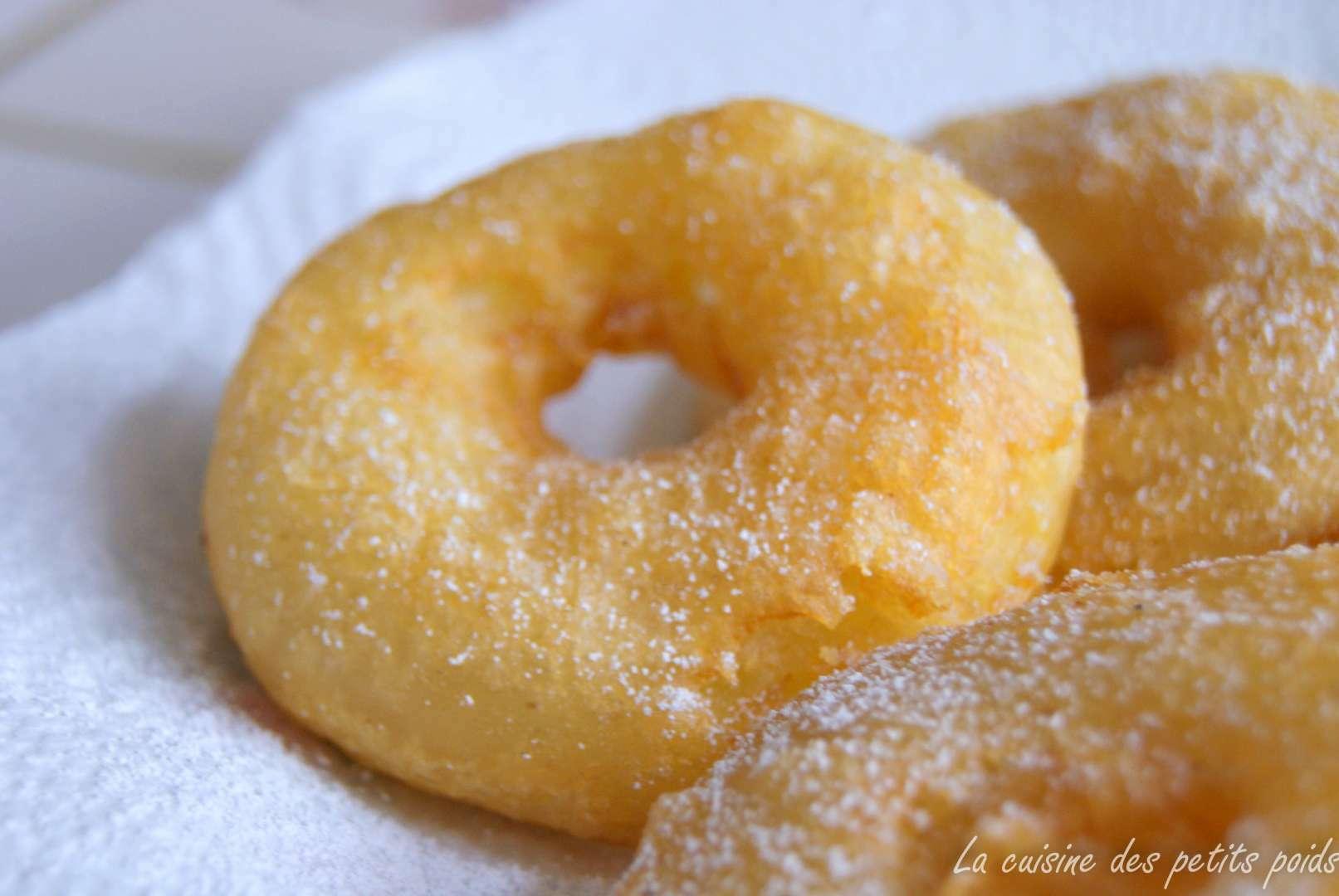 Beignets aux pommes recette ptitchef - Pate a beignet avec levure de boulanger ...