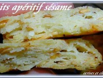 BISCUITS APERITIF AU FROMAGE ? SESAME ET PAPRIKAS, photo 2