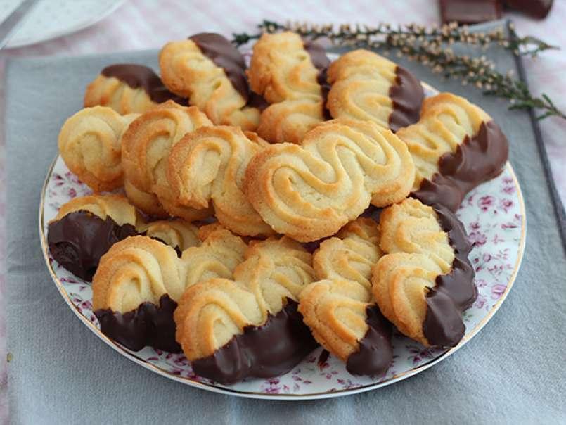 Biscuits Spritz Pour Le Gouter Recette Ptitchef