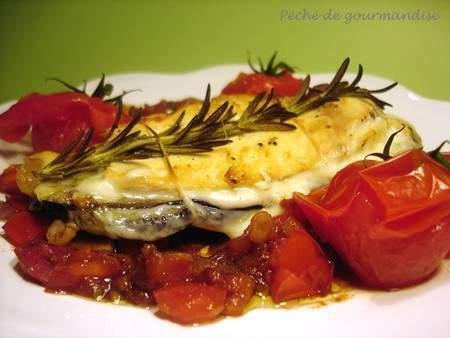 Blanc de poulet surprise à l'italienne, Recette Ptitchef
