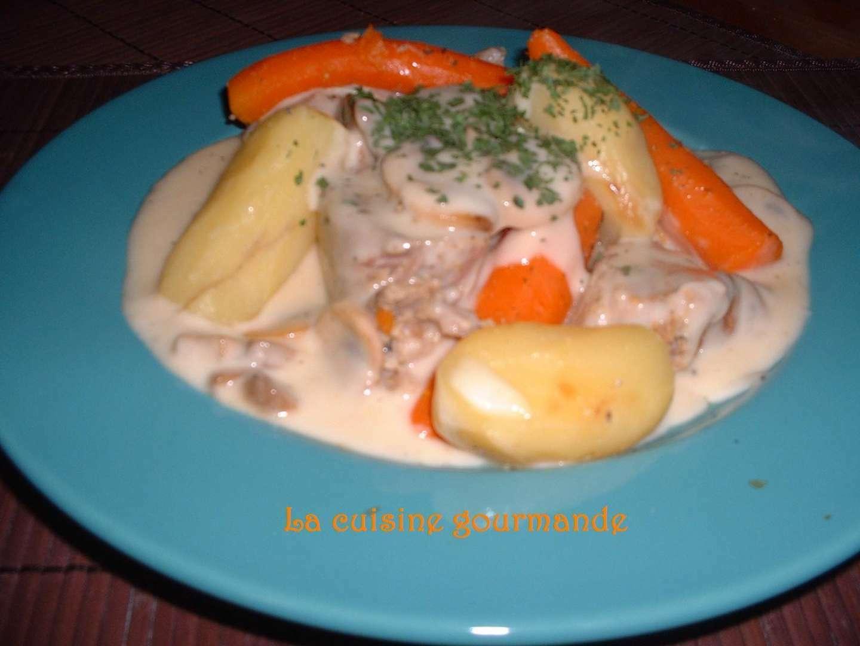 Blanquette de veau l 39 ancienne recette ptitchef - Cuisine blanquette de veau a l ancienne ...