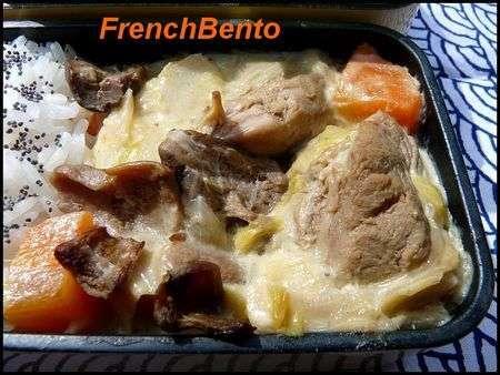 Blanquette de veau aux c pes l 39 ancienne recette ptitchef - Cuisine blanquette de veau a l ancienne ...