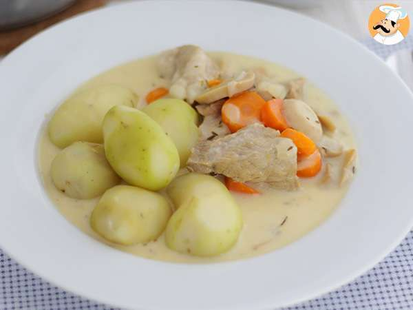 Blanquette de veau facile recette ptitchef - Blanquette de veau recette facile ...