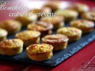 bouch es ap ritives crabe et crevettes grises recette ptitchef. Black Bedroom Furniture Sets. Home Design Ideas