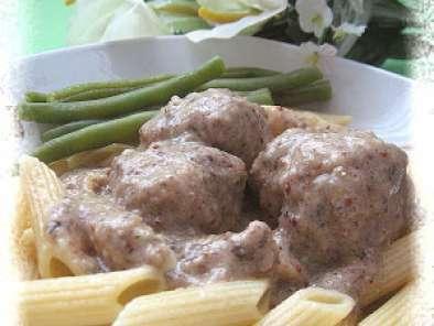 Boulettes De Veau Sauce Aux Champignons Maison With Champignon Dans Maison