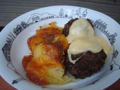 boulettes de viande maison avec sa petite sauce fromag re recette ptitchef. Black Bedroom Furniture Sets. Home Design Ideas