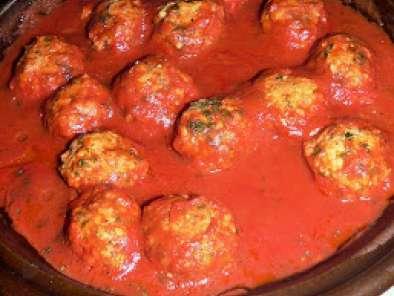 Boulettes V 233 G 233 Tariennes A La Tomate Recette Ptitchef