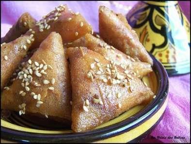 Briouates aux amandes en étapes ( pâtisserie orientale )