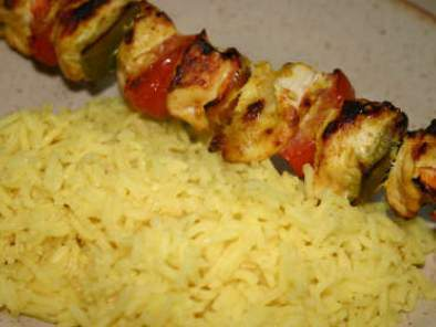 brochettes de volaille au curry