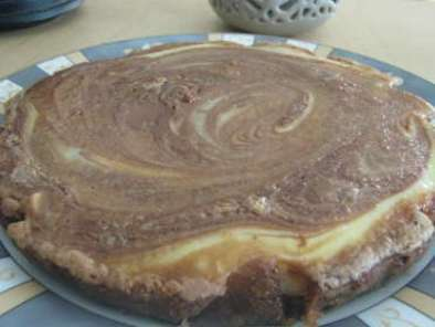 Brownie cheesecake au chocolat au lait aux noisettes, Photo 3