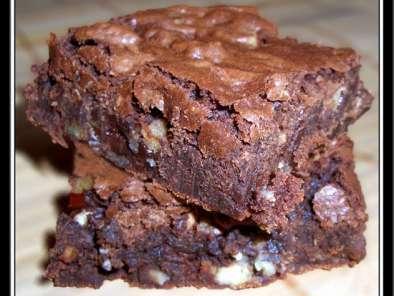 brownies sans beurre et sans oeuf recette ptitchef. Black Bedroom Furniture Sets. Home Design Ideas