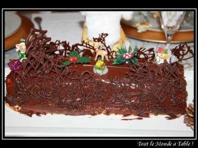 Creme patissiere au chocolat pour buche