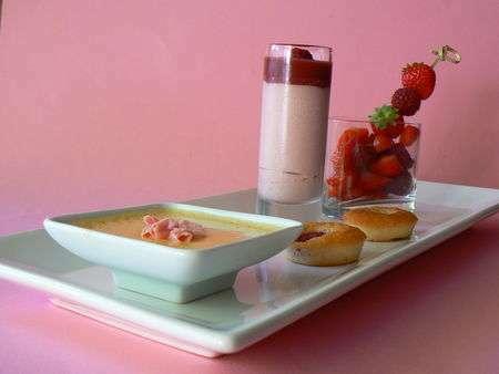 Caf gourmand top girly recette ptitchef - Recette de mini dessert gourmand ...