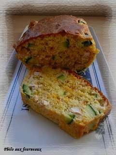 cake la mimolette aux courgettes au poulet recette ptitchef. Black Bedroom Furniture Sets. Home Design Ideas