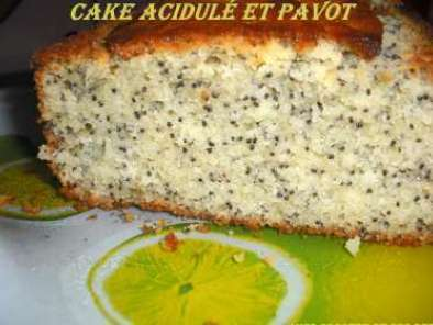 Cake au citron et aux graines de pavot, Photo 2