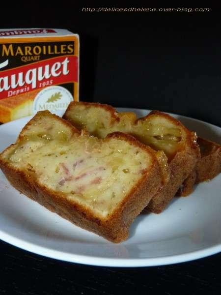 Cake Au Maroilles Et Lardons