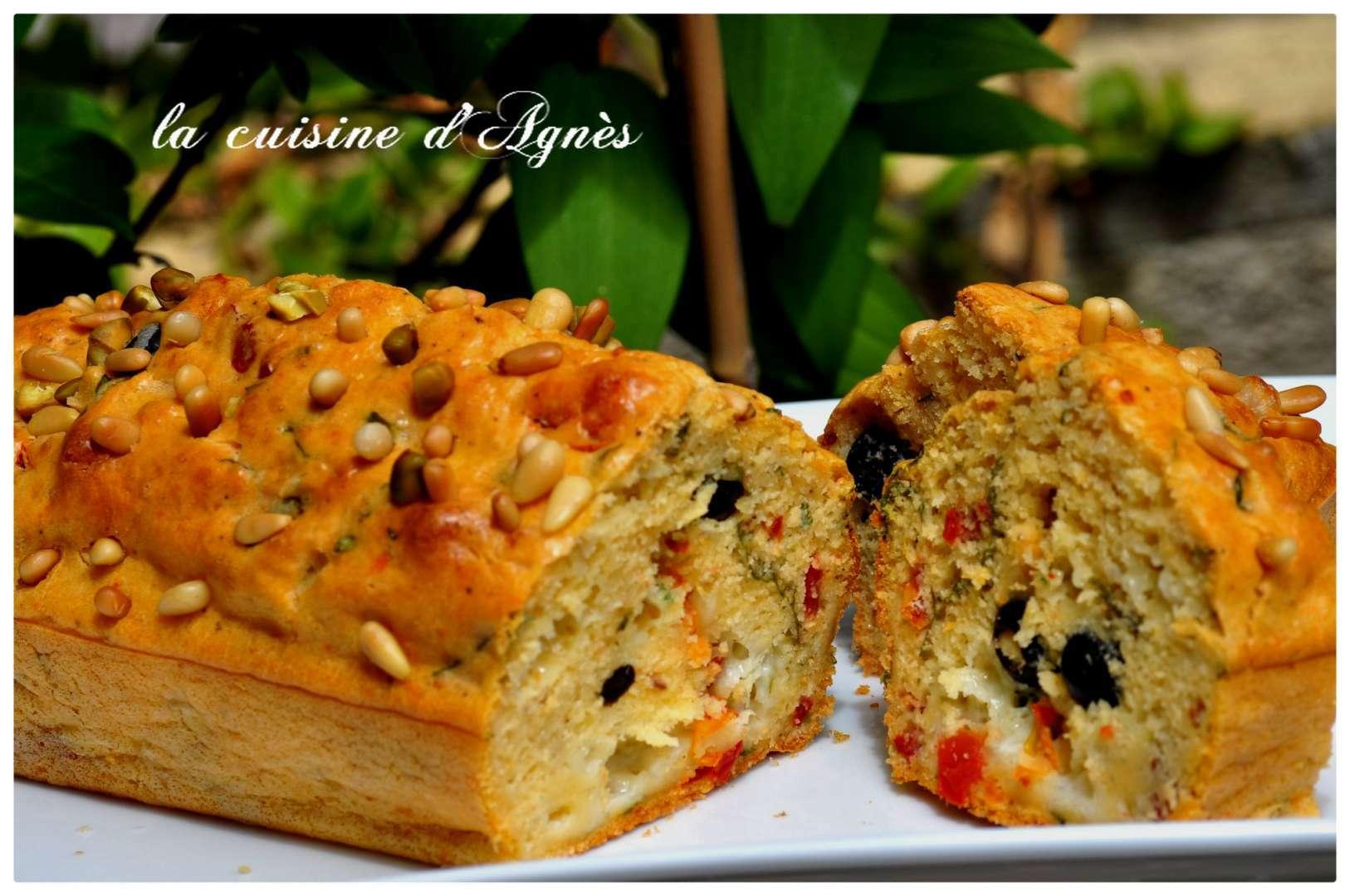 Mini Cake Feta Poivron