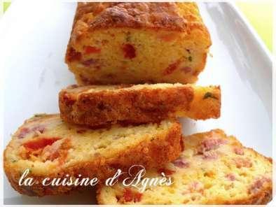 Recette Cake Bacon Cheddar