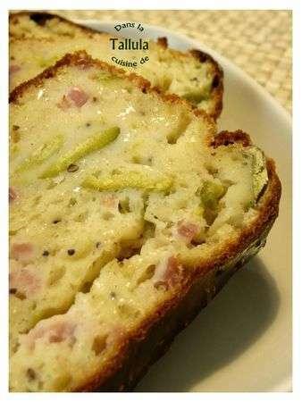 Cake fèves et lardons au cumin, Recette Ptitchef