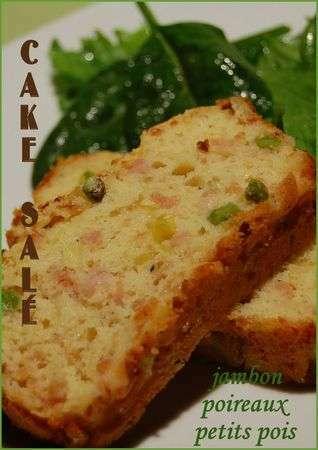 Cake Jambon Sans Lactose