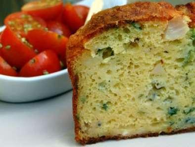 Cake Au Roquefort Et Olive