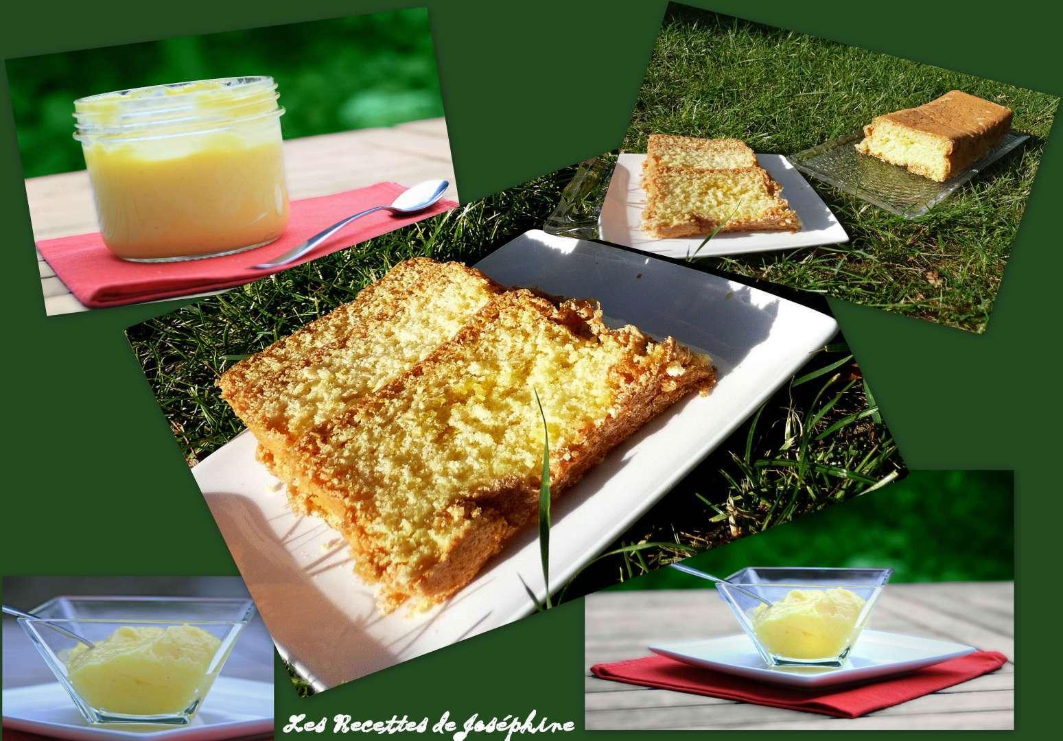 Cake sans beurre et lemon curd recette ptitchef - Lemon curd sans beurre ...