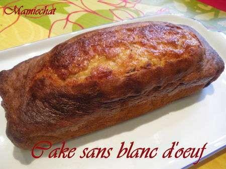 Cake sans blanc d 39 oeuf recette ptitchef - Recette blanc d oeuf thermomix ...