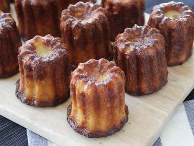 Canelés (ou cannelés) bordelais fondants et croustillants, Photo 2