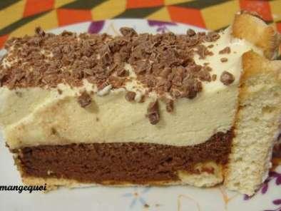 Charlotte len tre vanille et chocolat charlotte c cile recette ptitchef - Recette charlotte chocolat facile ...