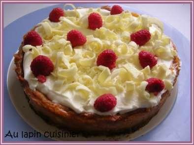 cheesecake au chocolat blanc framboises et mascarpone. Black Bedroom Furniture Sets. Home Design Ideas
