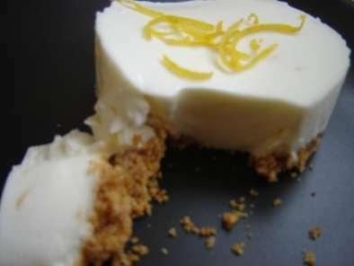 cheesecake au citron l ger et sans cuisson recette. Black Bedroom Furniture Sets. Home Design Ideas