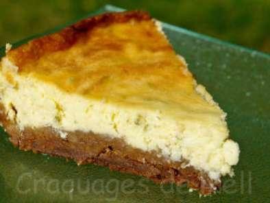 Cheesecake au citron vert & speculoos, Recette Ptitchef