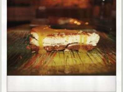Cheesecake chocolat blanc & speculoos, avec son caramel ...