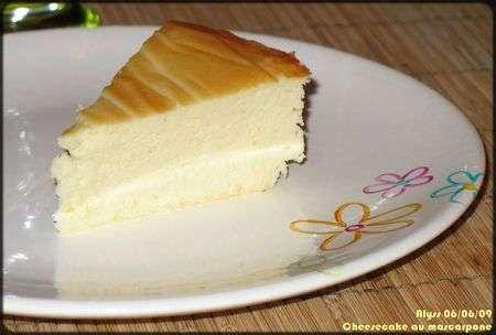Cheesecake fromage blanc-mascarpone, Recette Ptitchef