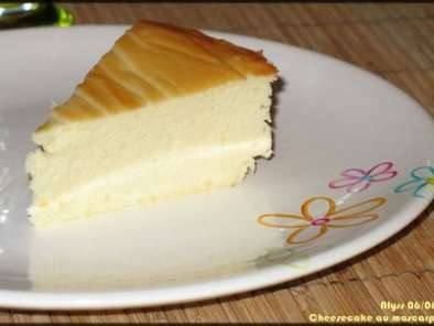 Cheesecake fromage blanc-mascarpone