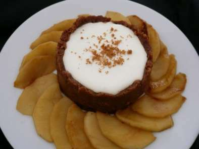 Cheesecake pommes speculoos sans cuisson recette ptitchef - Cheesecake sans cuisson speculoos ...