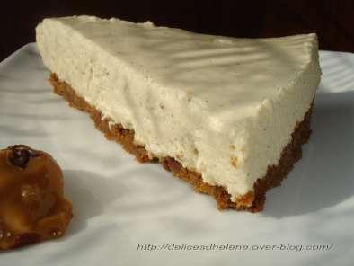 cheesecake sans cuisson a la confiture de lait recette. Black Bedroom Furniture Sets. Home Design Ideas