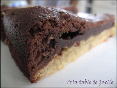 Chocolat et beurre de cacahu tes pour un g teau qui change recette ptitchef - Gateau beurre de cacahuete ...