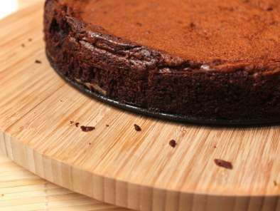 Chocolate fudge cake {fondant au chocolat}