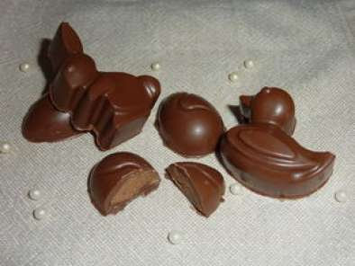Chocolats Fourres Au Praline Recette Ptitchef